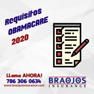 Requisitos para aplicar a Obamacare 2020